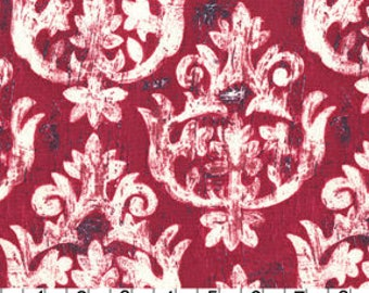 Michael Miller Fabric French Harp in Pink-Burgundy 1 Fat Quarter by Laura Gunn