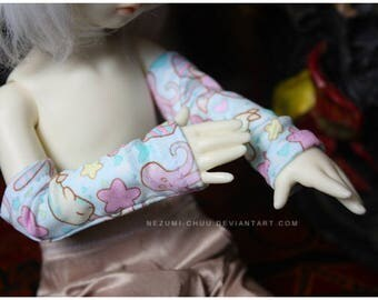 ABJD LTF TG and YoSD Pastel Cute Fairy Kei armwarmers