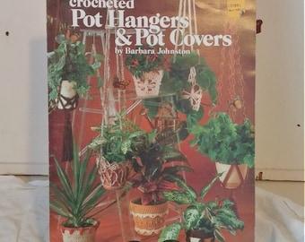 Vintage Crochet Book | Crocheted Pot Hangers & Pot Covers
