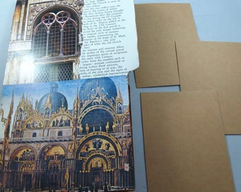 Travel Junk Journal, Italy Theme, Smash Book, Scrapbook, Post Card Holder, European Vacation Europe