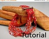 Introductory Special: Micro Macrame Tutorial - Marrakesh Bracelet - Pattern - Beaded Macrame - Jewelry Making - DIY