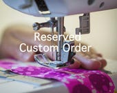 Reserved Custom Order for Ashley - Swatch