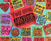 You Are Amazing and Other Compliments Mini Tiles (set of 35 prints)