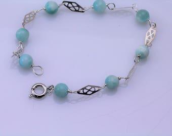 Hemimorphite Bracelet. Listing 598050041