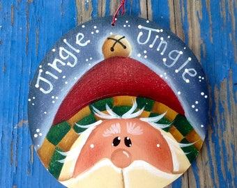 NEW 2017 - Jingle-Jingle Santa Ornament