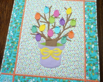Easter Egg Tree Wall Hanging