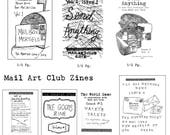 Mail Art Club Zines Package ***15% off***