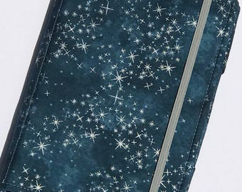 Kindle Paperwhite Cover, Nook Glowlight Plus Case, all sizes, Starry Silver Night Tablet hardcover Cover
