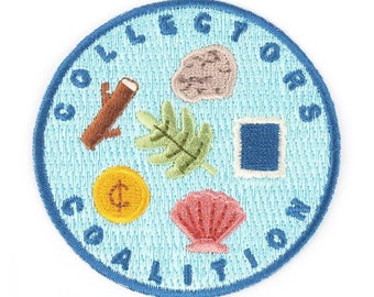 Collectors Coalition Iron On Patch