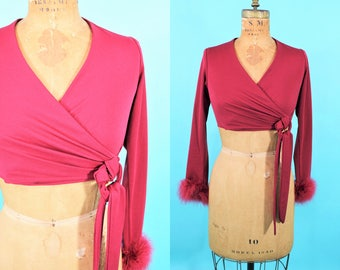 """1970s crop top 