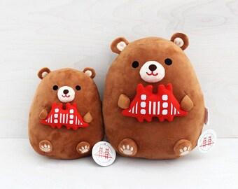 Hugging California Bear Plush Toy