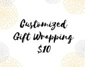 Customized Gift Wrapping - Send a Vintage Gift