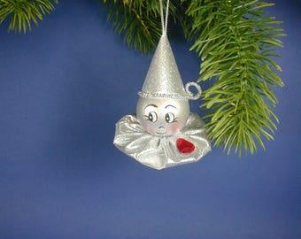 Oz Tin Man Ornament, Wood Tin Man Ornament, One of Oz Ornament Set