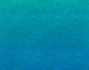 "SALE Blue Ombre Fabric - 34"" x 44"" - Timeless Treasures - C4700"
