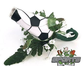 JULY SALE - 20% OFF: Soccer Rose Boutonniere