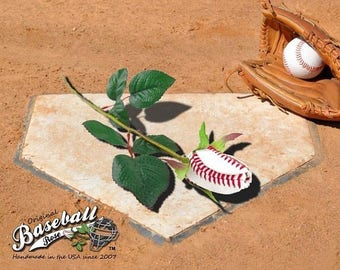 25% OFF SALE: Original Baseball Rose