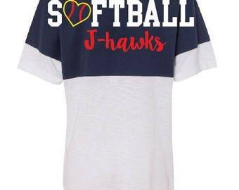 J-hawks jersey tee
