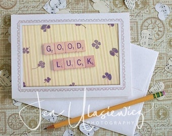 Good Luck Photo Notecard, Stationery