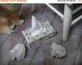 ON SALE Miniature Kleenex