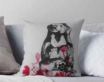 Honey Bear Screen Print Cushion