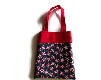 4th of July Star Gift Bag - Goodie Bag - Mini Tote