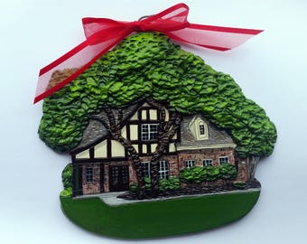 Custom listing for mwyatt11 - two Custom House Ornaments-  a cherished keepsake of your home