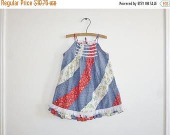 SALE // Vintage Toddler Girl's Sundress