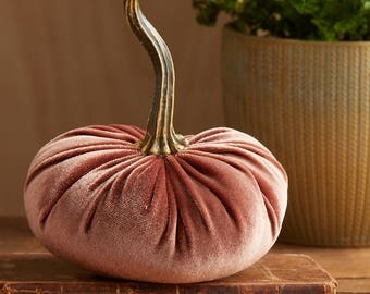 Scented Velvet Pumpkin, BROWNISH RUST