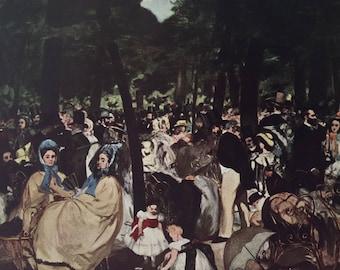 Manet litho 1949 - art print - collectible