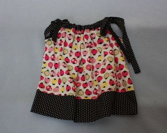Ladybug First Birthday Pillowcase Dress