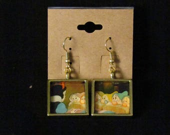 Snow White and the Seven Dwarfs Earrings