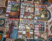 Reserved Listing for Kimberly Rug Hooking Magazines Lot of Six (LOT 4)