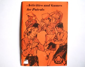 Vintage Activities and Games for Patrols - Scouts Girl Guides WAGGGS Compass Mapping Outdoor Indoor Quick Games Longer Group Games Scavenger