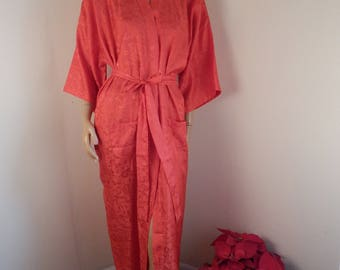 all silk kimono bathrobe