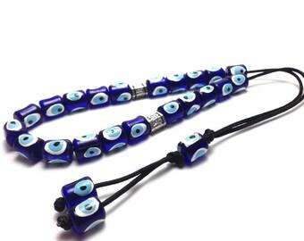 Greek Komboloi - Evil eye beads - Worry beads - Made in Greece - Greek gift