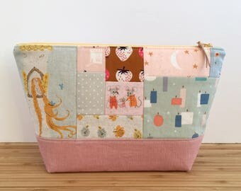 SMALL Project Bag   Patchwork Fairy Tales