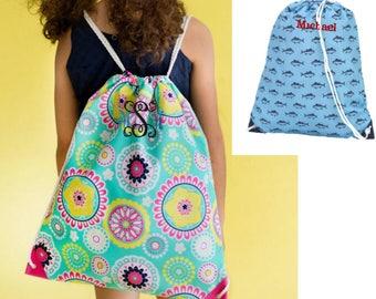 Kids drawstring bag | Etsy