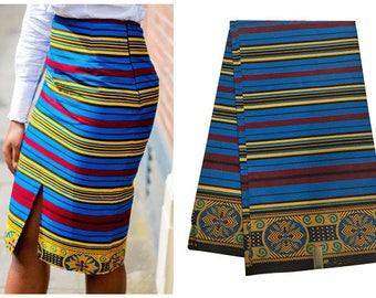 6 Yds Fashion Dress Fabric African Veritable Real Prints Java Wax 100% Cotton for Lady