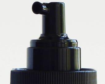 Foaming Pump for Mason Jar, Rustproof soap dispenser, black plastic, DIY