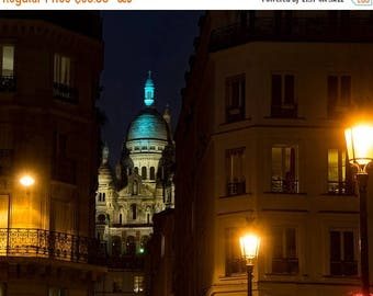 SUMMER SALE-Ends July 5- Sacre Coeur Photography Paris Photograph Architecture Paris France Decor Church Wall Art Home Decor par168
