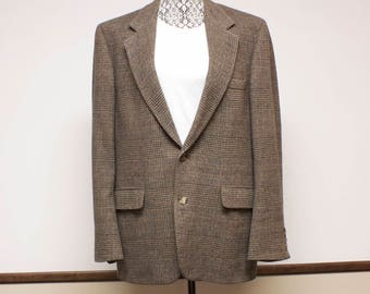 Vintage Sports Coat - Camel Hair Sports jacket by Barrister