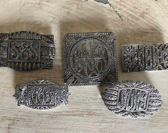 Vintage Marcasite Pin lot