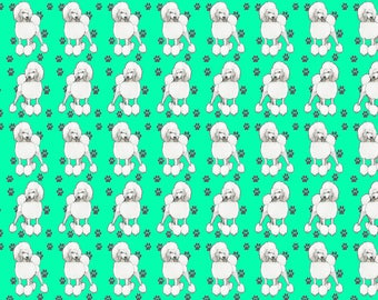 Poodle fabric