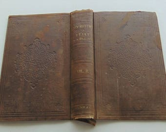 1854 Antique Book Covers