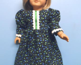 "18"" Doll Clothes - Long Victorian Look Dress"