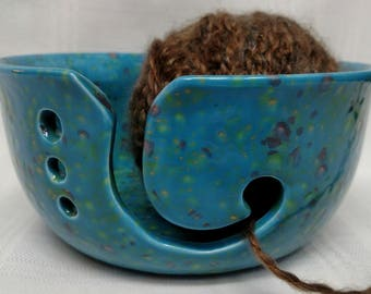 Yarn Bowl, Knitting Bowl, Large Yarn Bowl, Ceramic