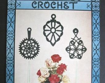 Wrought Iron Crochet - Lily Design Book No. 74 - 1954