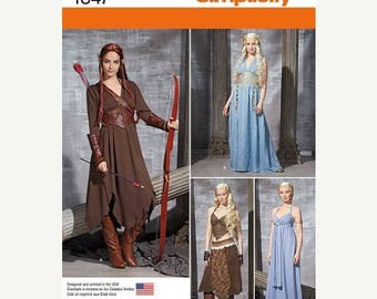 Fairies of the Forest Costumes--Womens Multi Sizes 6-12  UNCUT Patterns 40-70% off Patterns n Books SALE