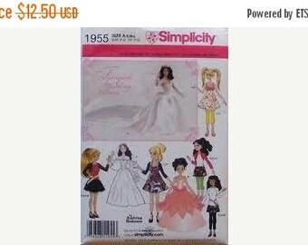 Multi size Doll Clothing Patterns--UNCUT Multi Patterns-- 20-50% off Patterns n Books SALE