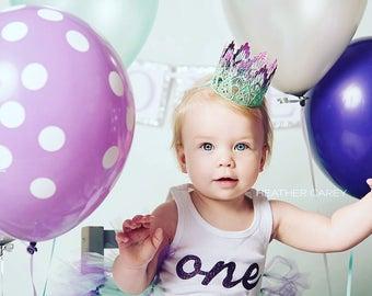 Mermaid Tutu   Tutu Skirt   Birthday Tutu   Birthday Tutu Dress   Mint and Purple Birthday Tutu   Cake Smash Tutu